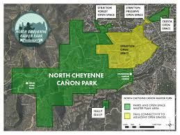 Ncc Map North Cheyenne Cañon Master Plan Colorado Springs