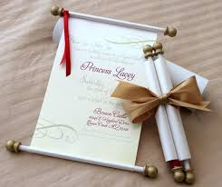 diy scroll invitations make your own scroll wedding invitations diy scroll ends for