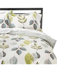 Duvet Cover Sets On Sale Deals On Scandinavian Leaves Duvet Cover Set