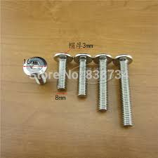 Kitchen Cabinet Fasteners 50pcs M8 20 Steel With Nickel Connector Hex Socket Bolts