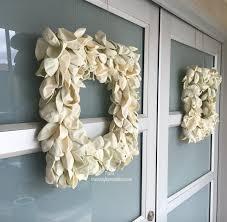 diy modern spring wreath trace style create live