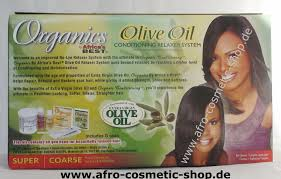 africa u0027s best organics no lye olive oil relaxer kit super afro