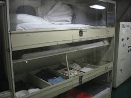 These Bunks Are Still Used On Ships How Could They Ever I Flickr - Navy bunk beds