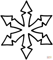 snowflake coloring page free printable coloring pages