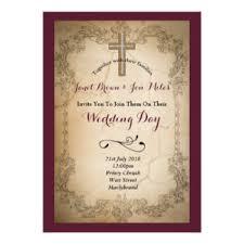 catholic wedding invitation catholic wedding invitations announcements zazzle co uk