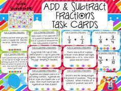 fraction word problems math fractions math basics pinterest