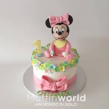 per cake torta per bambina minnie in rosa baby minnie cake for girl