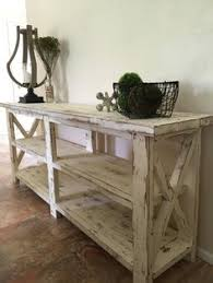 Farmhouse Console Table Farmhouse Console Table Vignette In A Foyer Home Foyers
