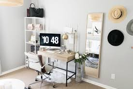 Office Desk Space Office Reveal On A Budget The Styled Press
