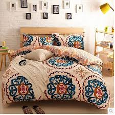 Wine Colored Bedding Sets Patterned Comforter Sets Retro Teal Chic Bedding 14