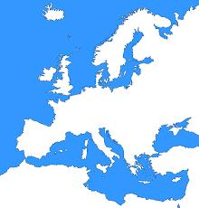 Blank Ww1 Map by Atlas Blank Map Europe No Borders