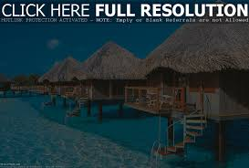 island resort tahiti vacation packages over the water bungalow