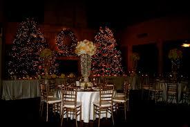 Christmas Wedding Decor - white christmas wedding isleworth golf and country club