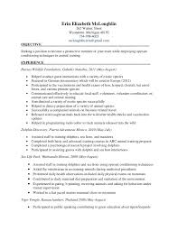 resume templates exles 2017 sle wildlife biologist resume 10 biology 8 exles format 2017