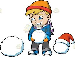 snowmen clipart cartoon images