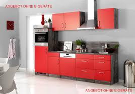 Billige K Henblock Küchenzeile 220 Cm Mit U0026 Ohne Geräte Kaufen Smartmoebel De L