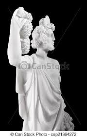 dionysus greek god statue ancient greek gods dionysus was the god of the grape picture