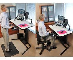 Standing Desk Ergotron Standing Desk Ergotron 24 271 928 Workfit D Regarding New Home