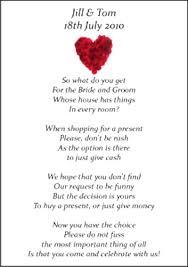 Wedding Gift Registry Wording Wedding Invitation Asking For Money Paperinvite