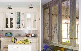 mirrored kitchen cabinets mirrored cabinets check your hair while you cook kitchn