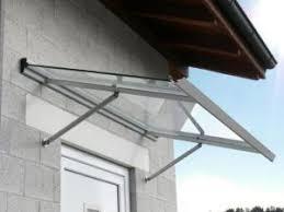 tettoie per porte esterne pensiline e tettoie per esterni in vetro alluminio e pvc