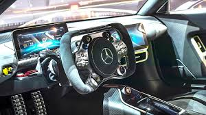 mercedes amg project one interior video in detail new amg p1
