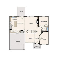 Biltmore Floor Plan 4 Bed And 3 Bath Single Family Home Available In Snellville