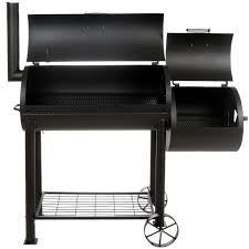 charcoal grill and smoker combo