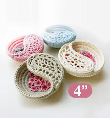 Home Decor Gift Items Yin Yang Jewelry Dish Crochet Pattern 6 Crochet Home