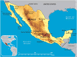 Mexican State Map by Of Mexico 2011