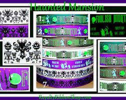 Glow Dark Halloween Costumes Haunted Mansion Costume Etsy