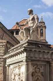 ornamental statues in the city of florence stock photo aciero