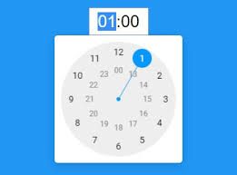 timepicker android android style analog clock time picker plugin with jquery free