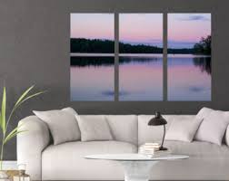 Wall Arts For Living Room by Multi Panel Art Etsy