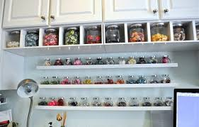 ikea ribba ledge pick of the week amazingly organized craft room ikea share space