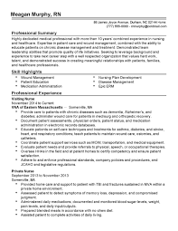 exles of rn resumes cool pacu rn resume pictures inspiration professional resume