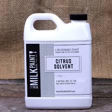 amazon com real milk paint citrus solvent gallon home improvement