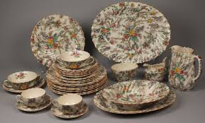 lot 607 copeland spode dinnerware