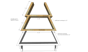 Wood Shelf Plans by Ana White Tree Wall Shelf Diy Projects