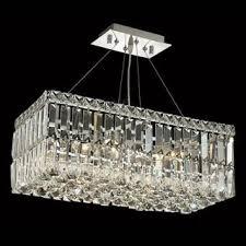 Elegant Lighting Chandelier Elegant Lighting Chrome Royal Cut 28 Inch Crystal Clear Hanging 16