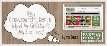 crowdsourcing design how crowdsourcing design helped me to kickstart my business