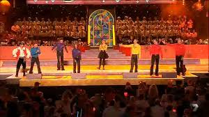 the wiggles performing at carols in the domain 2012