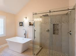 Bathroom Shower Door Vision Mirror And Shower Door Re Imagine Your Beautiful Bath Today