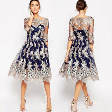 unbranded lace floral gown party cocktail dresses for women ebay