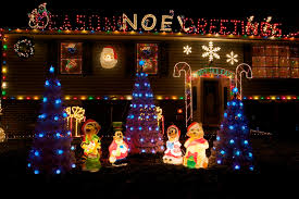 Classy Christmas Yard Decorations by Xmas Lights Outside House Roselawnlutheran