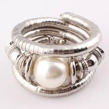 charm snake bracelet images Hot jewelry natural stone beads charms snake bracelet imitation jpg