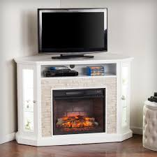 Rustic Electric Fireplace Home Decorators Collection Hawkings Point 59 5 In Rustic Tv Stand