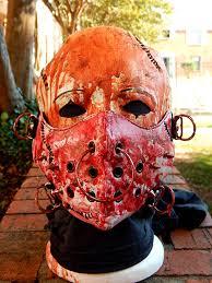the asylum custom halloween mask by nekokunyoshi on deviantart