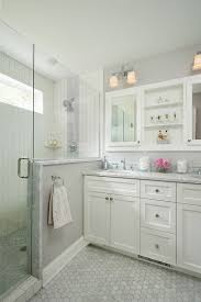 Gray Bathroom - mosaic tile speckled gray wall floor illustration gray bathroom