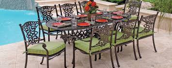 Outdoor Furniture Iron by The Good And Bad For Outdoor And Patio Furniture